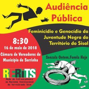 audiência feminicício e genocídio